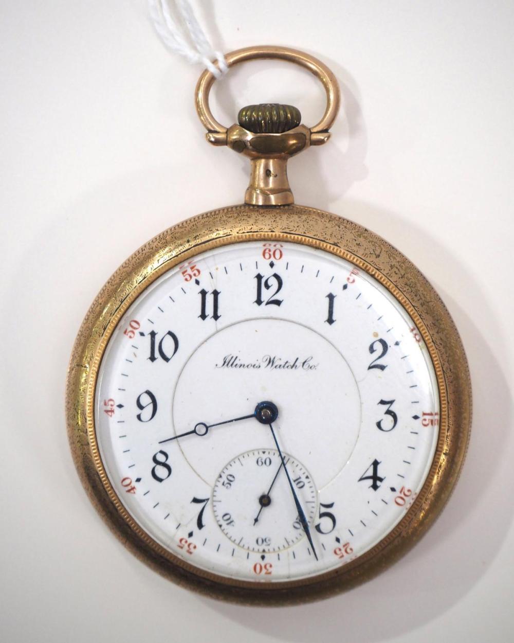 Illinois 17J pocket watch
