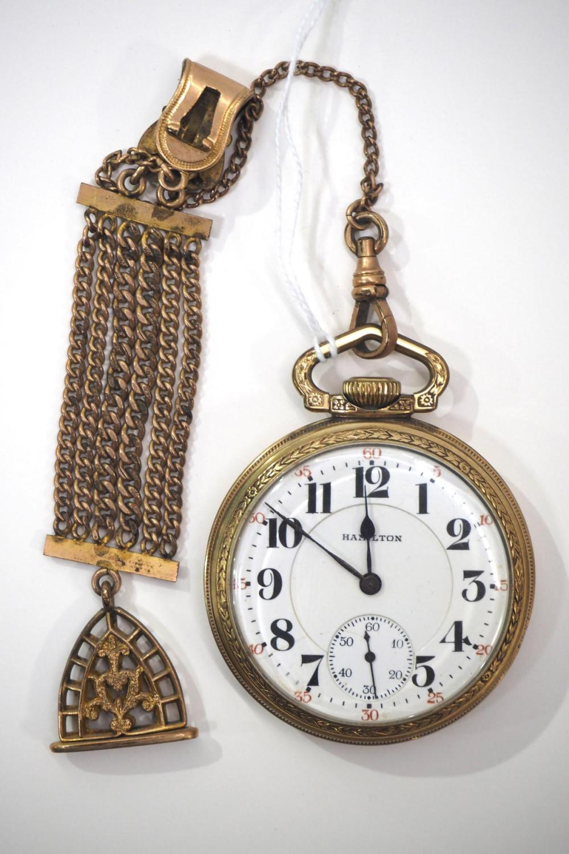 Hamilton 992 21J pocket watch