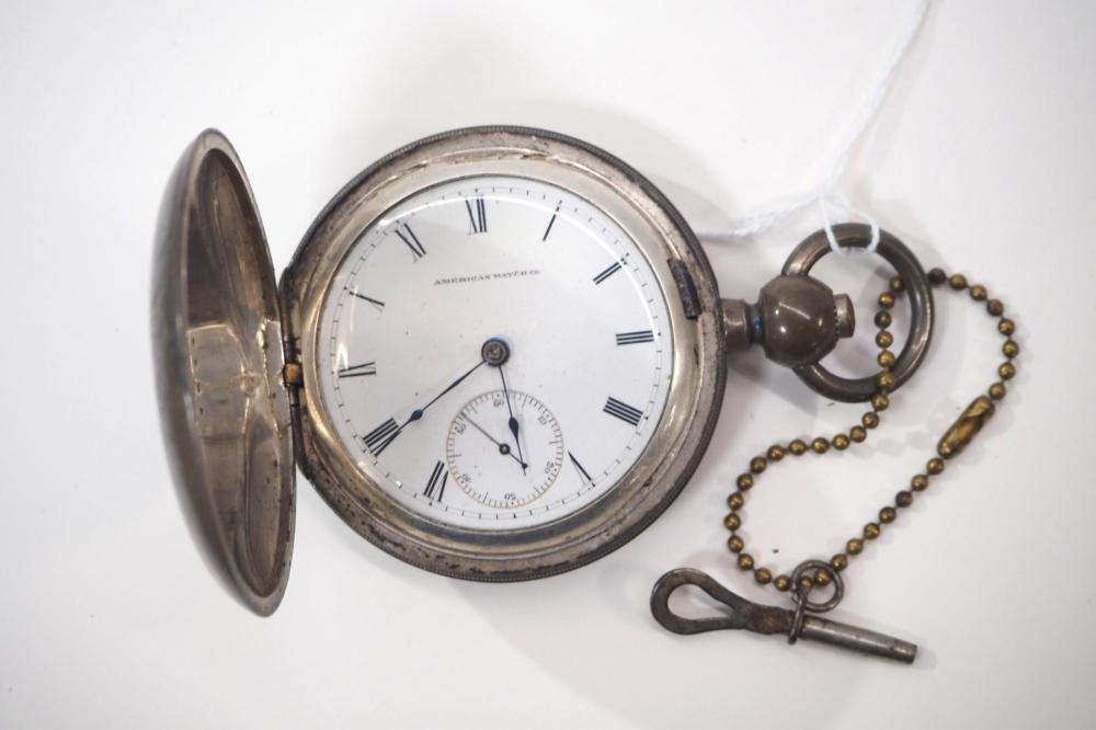 American Waltham Foggs pocket watch