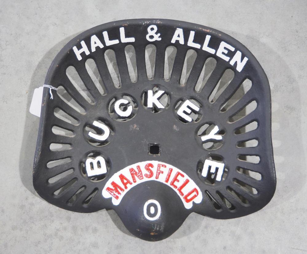 Buckeye cast iron seat