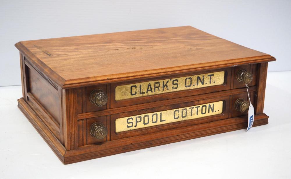 Clark's 2-drawer spool cabinet