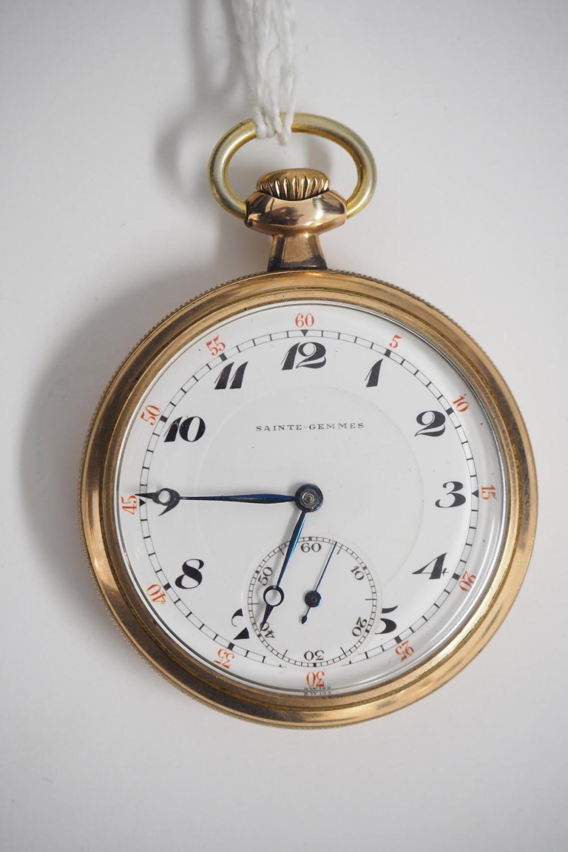 Swiss-made 17J pocket watch