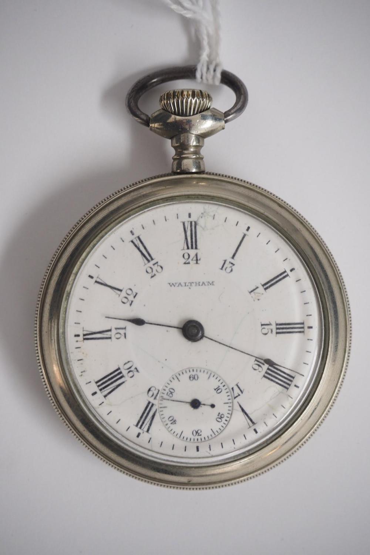 Waltham 17J pocket watch