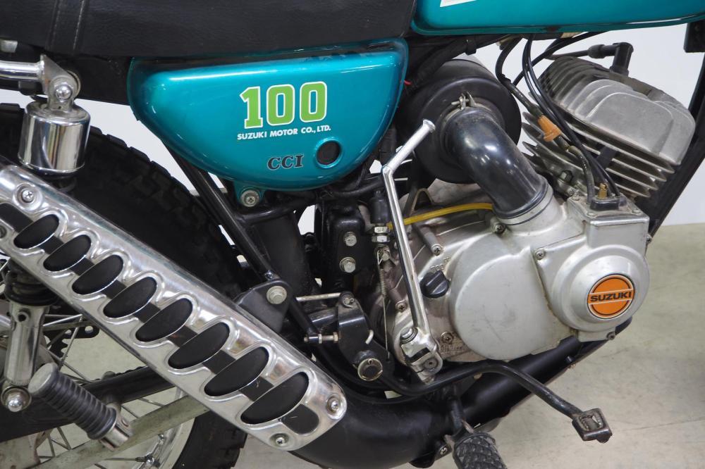 1974 Suzuki TC100 motorcycle