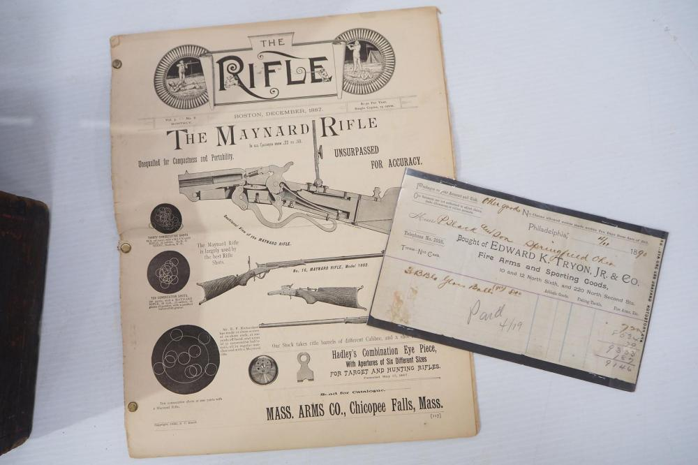 Mass. Arms target shooter's rifle