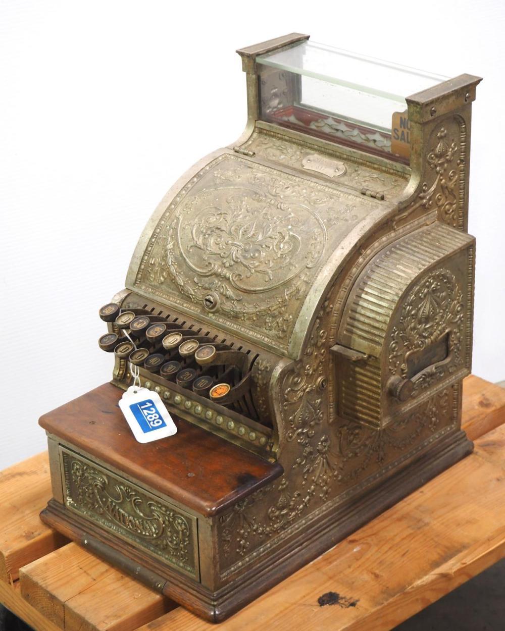 National Model 317 cash register