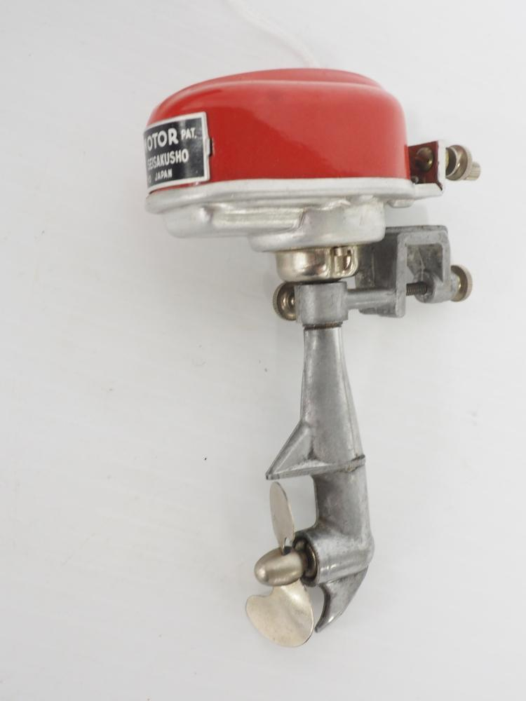 nos battery operated dc outboard motor