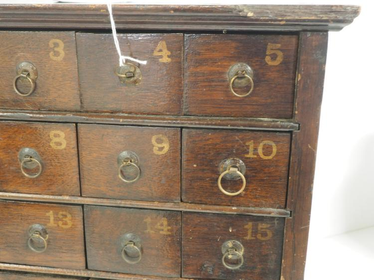 auction kitchen cabinets primitive apothecary cabinet 1387