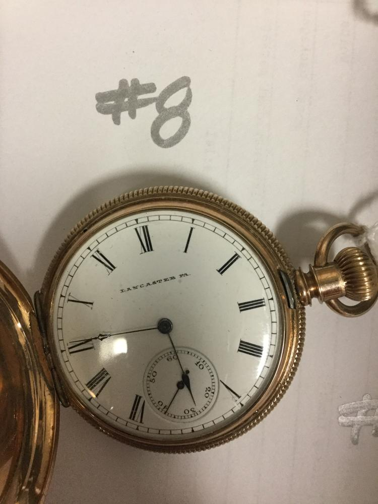 how to open an ingersoll pocket watch
