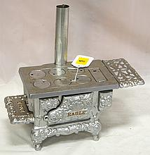 Cast iron toy Eagle stove