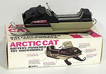 Normatt Arctic Cat battery powered Snowmobile with original box - toy & box in great condition
