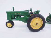 Ertl John Deere Tractor with Baler