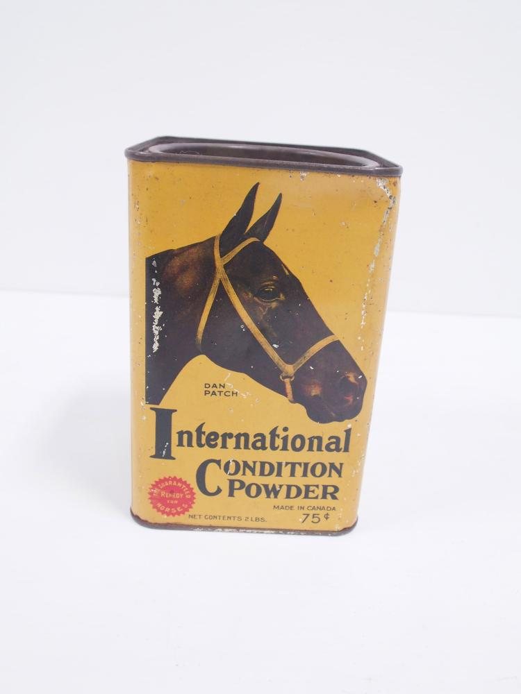international condition powder tin