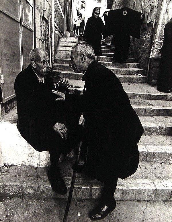 Micha Bar-Am (b. 1930) Israeli ALLEY IN JERUSALEM,
