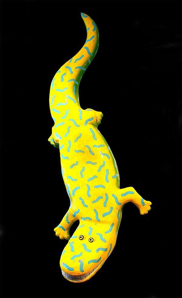 Mark Beam (b. 1957) American WALLAMANDER, acrylic