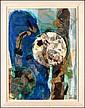 Elsa Warner (20th Century) American LUNAR NIGHT,