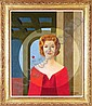 Gianni Frassati (b. 1924) Italian WOMAN IN SURREAL, Gianni Frassati, Click for value