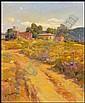Ovanes Berberian (b. 1951) American LANDSCAPE, oil