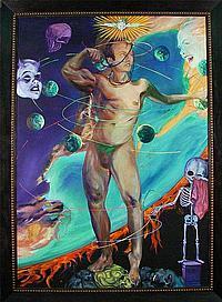 John Valadez (b. 1951) American SYMPTOM OF THE