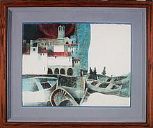 Sunol Alvar (b. 1935) Spanish (three)