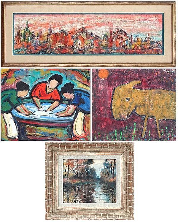 Ida Itkin & Artists Unidentified (four