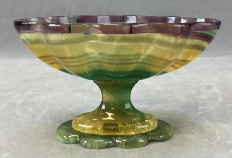 Greek Art Petrus decorative agate bowl