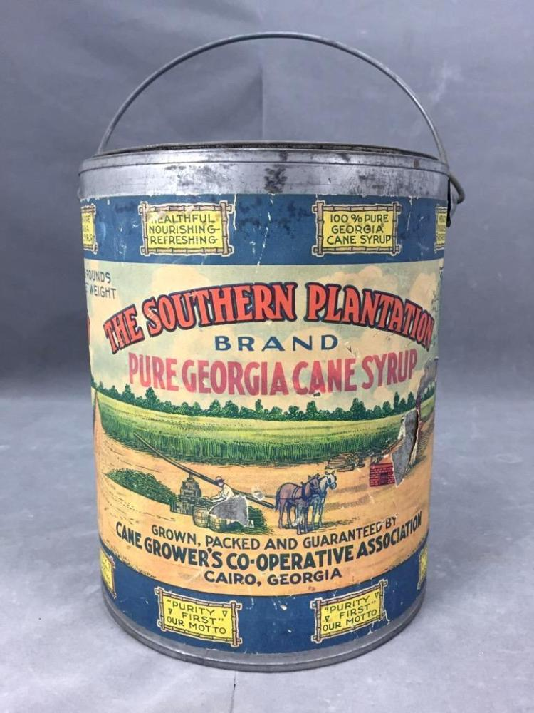 The Southern Plantation Georgia cane syrup in