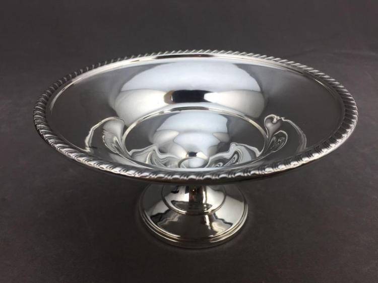 Sterling silver dish (179.1g -weighted base-)