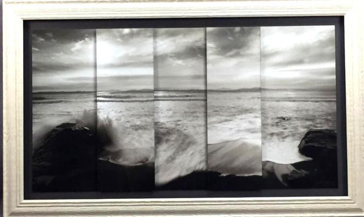 Beautiful mult-panel seascape photograph