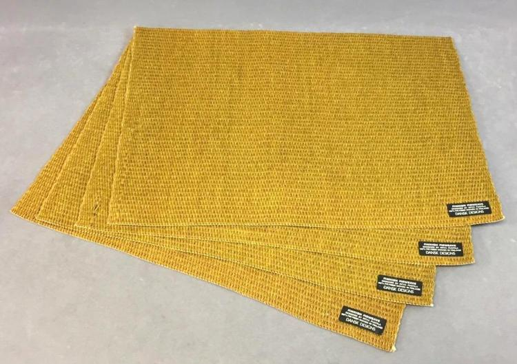 Mid-century Finnish placemats by Dansk, designed by Rivta Puotila w/ original tags from Lord & Taylor's