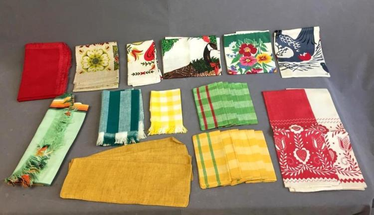 Colorful Assorted napkins