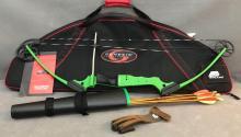 Genesis archery set includes original genesis 10 to 20 pound bow