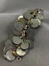 Older Afghan Coin bracelet