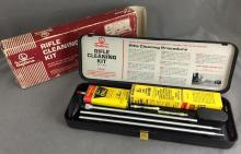 Vintage unused new old stock Rifle Cleaning Kit in original box