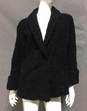 Vintage Black virgin Lamb jacket,