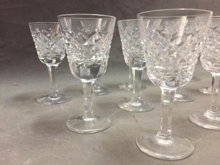 Waterford crystal cordial glasses set of 14 - Waterford cognac glasses ...