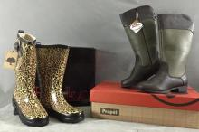 (2) Pairs of women's outerwear boots
