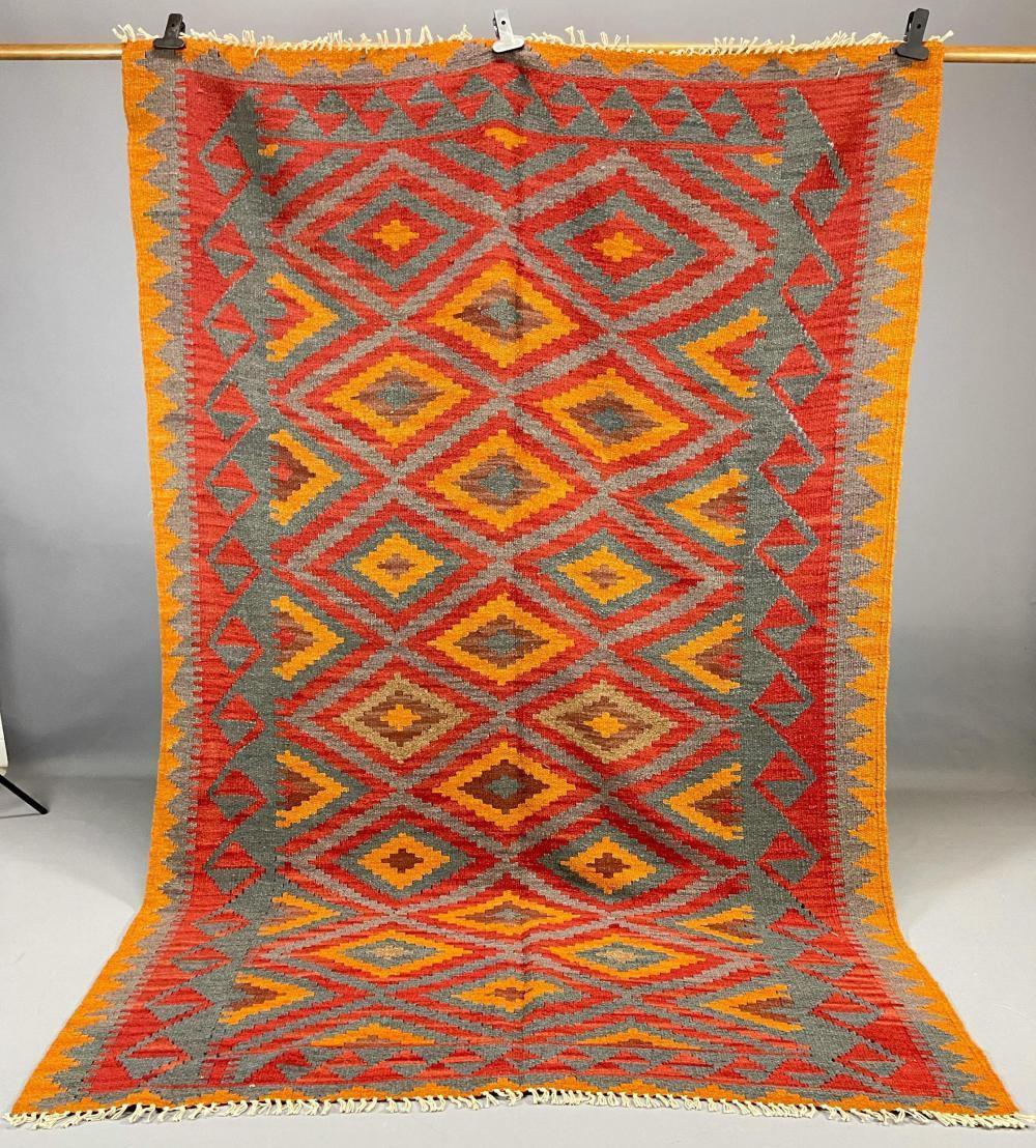 Handmade Afghan Tribal Wool Rug