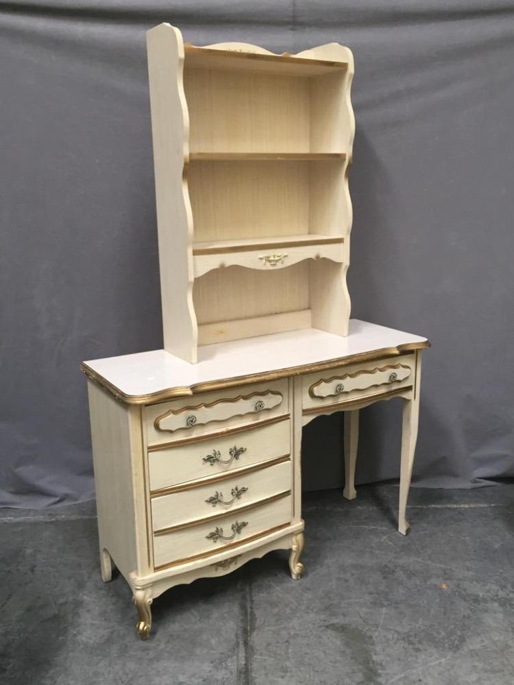 3 white gold furniture set