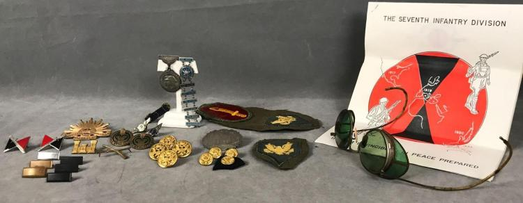 31 Antique and Vintage military and civilian pins