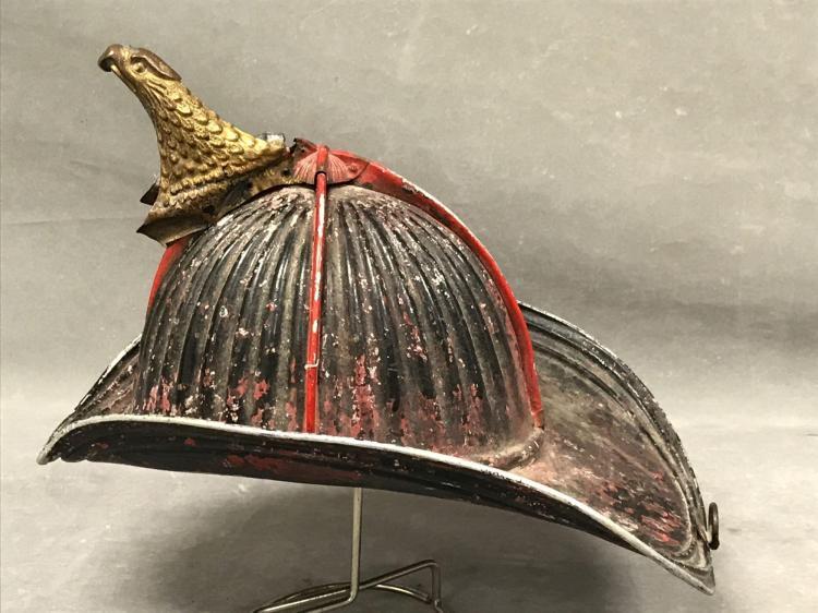 32 comb high eagle fireman presentation helmet,Cairns and bro. Makers New York
