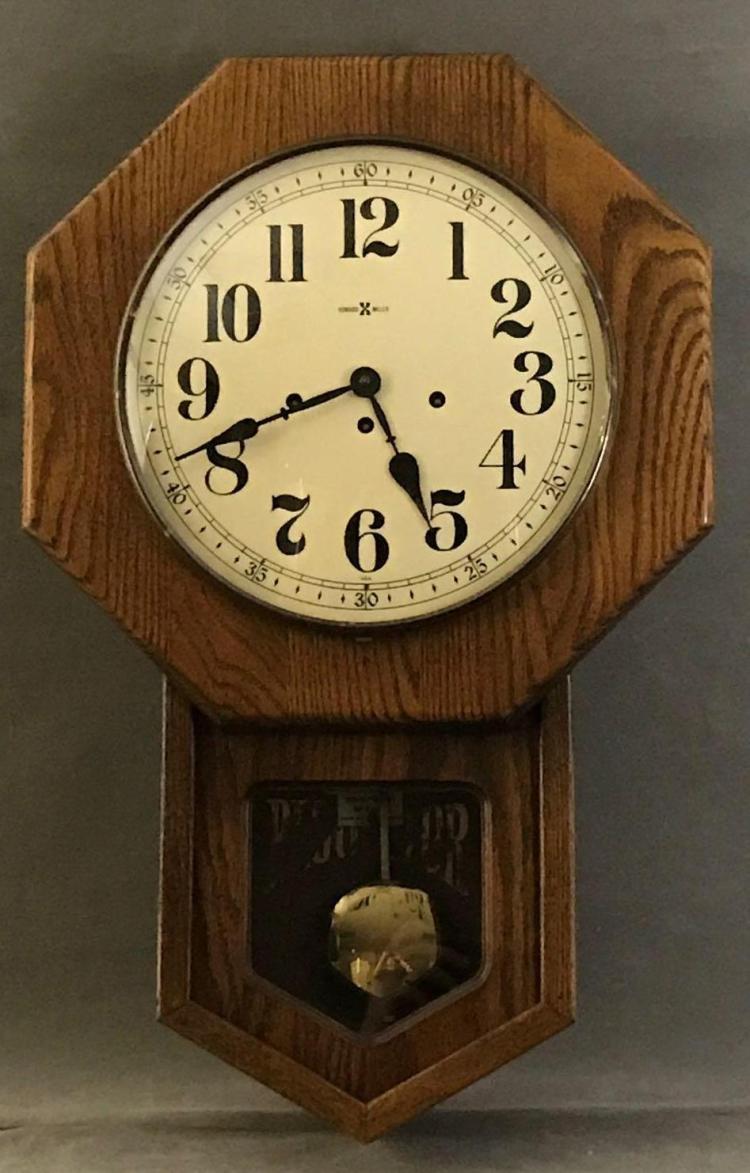 Howard Miller, Westminster chime key wind pendulum movement, wall clock