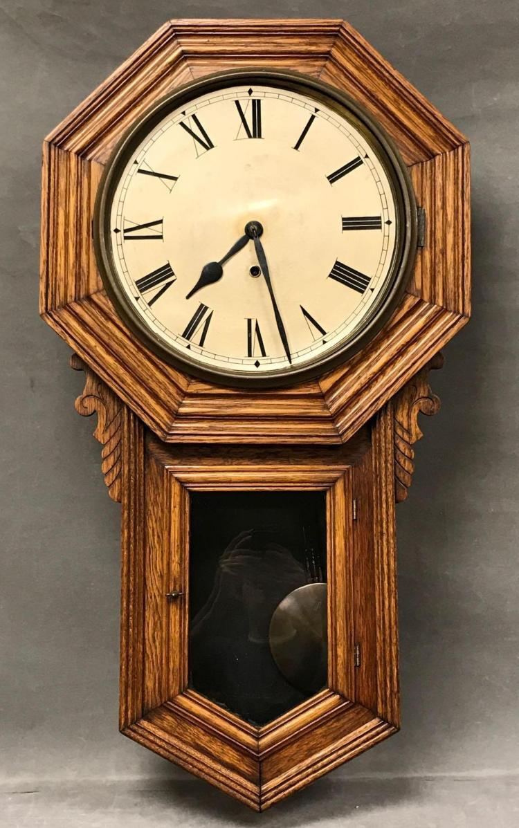 Older pendulumwall clock