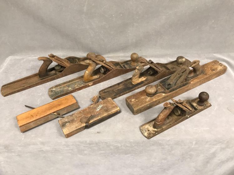 7 Antique planes, Stanley, Baily