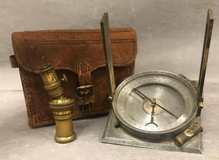 W. and L.E. Gurley surveyors multi tool kit