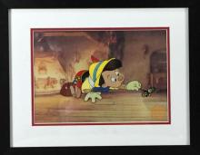 Limited edition Walt Disney serigraph of Pinocchio