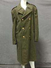 Vintage 1960s Belgium military officers jacket with brass griffin buttons