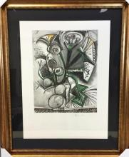 From the Marina Picasso estate, Modernist Abstract Lithograph of After-Picasso titled,