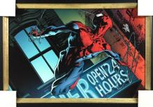 Limited-edition Marvel Giclee on Canvas,