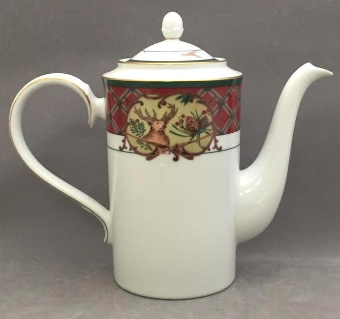Noritake porcelain coffee pot